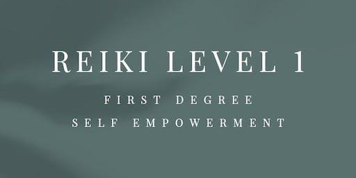Traditional Usui Reiki Level 1 course
