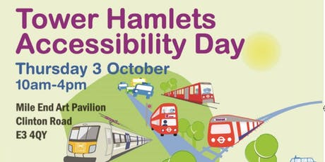 Tower Hamlets Accessibility Day tickets