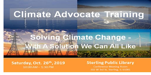 CCL Climate Advocate Training
