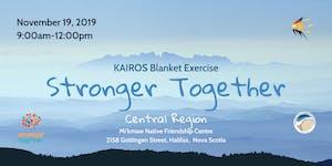 Kairos Blanket Exercise-Stronger Together-Central...