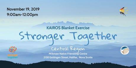 Kairos Blanket Exercise-Stronger Together-Central Region tickets