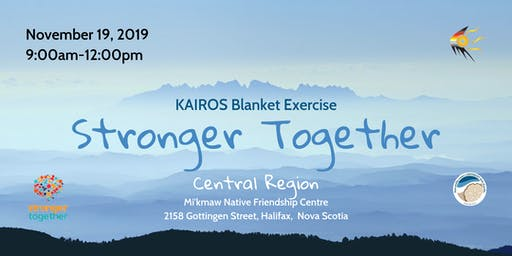 Kairos Blanket Exercise-Stronger Together-Central Region