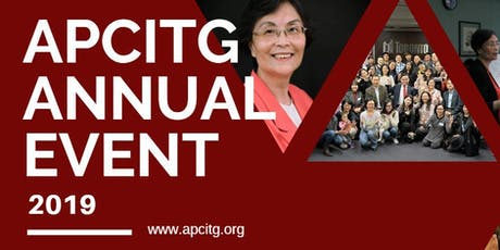 APCITG Annual Event 2019 (APCITG 2019年会) FREE! tickets