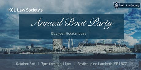 Annual Boat Party tickets