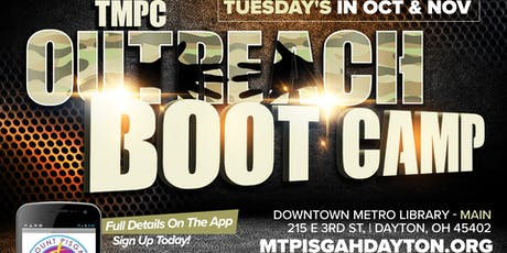 Community Outreach Bootcamp tickets