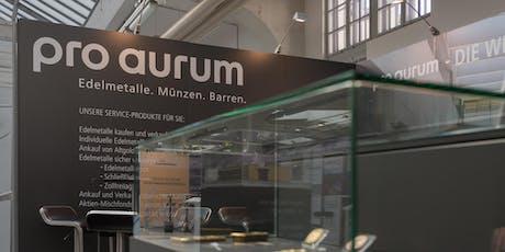 Vortrag GOLD-INVESTMENT  auf der Edelmetall- und Rohstoffmesse München Tickets