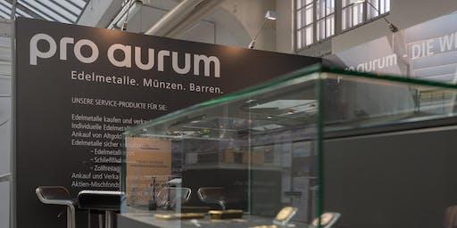 Vortrag GOLD-INVESTMENT  auf der Edelmetall- und Rohstoffmesse München