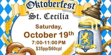Oktoberfest St. Cecilia tickets