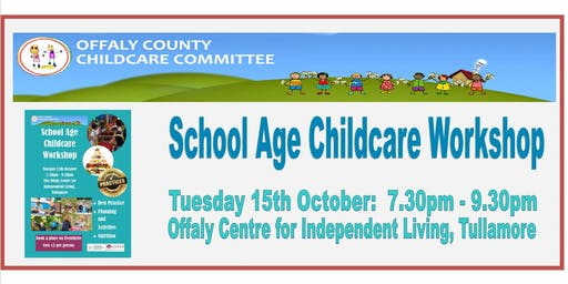 School Age Childcare Workshop