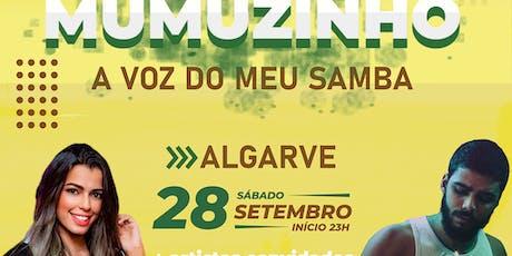 MUMUZINHO - A VOZ DO MEU SAMBA  AO VIVO NO ALGARVE tickets