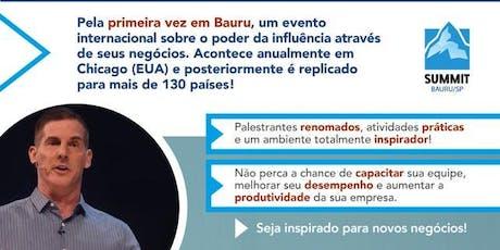 Degustação Summit Bauru 19/09 ingressos