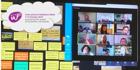 Ferramentas Digitais para Facilitar Grupos e Liderar Equipas Virtuais bilhetes