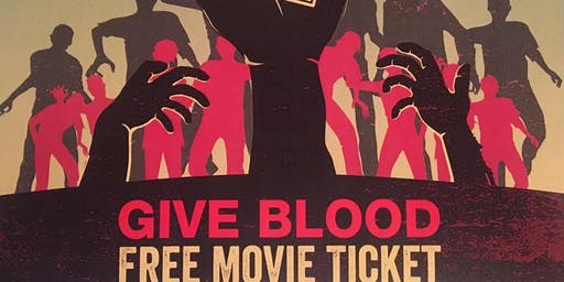 Blood Drive in the Community (Free Movie Ticket for blood donors)