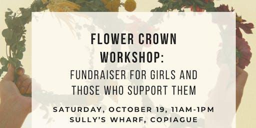 Flower Crown Workshop: Fundraiser for Girls Inc. of Long Island