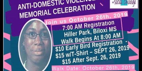 """Anti Domestic Violence Walk in Memory of Gabriell """"Gabby"""" Reed"""