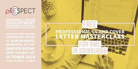 Professional CV and Cover letter masterclass tickets