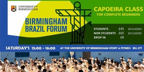 Capoeira classes  at University of Birmingham Sports & Fitness tickets
