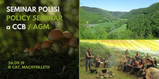 Llais y Goedwig Woodland Policy Seminar and AGM