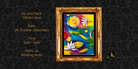 Sip and Paint: White Lotus tickets