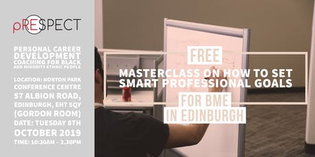 Free Masterclass on How to Set SMART Professional Goals tickets