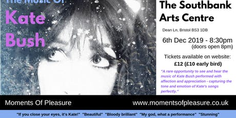 Moments Of Pleasure: The Music Of Kate Bush tickets