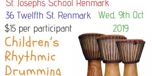 Children's Rhythmic Drumming Session