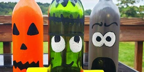 Halloween Bottle Paint Night tickets