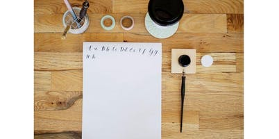 Intro to Modern Calligraphy with Jesilyn Kay (2019-09-22 starts at 3:00 PM)
