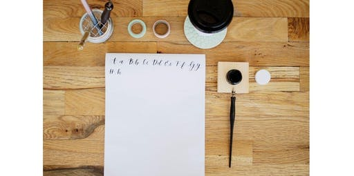 Intro to Modern Calligraphy with Jesilyn Kay (2019-10-27 starts at 3:00 PM)