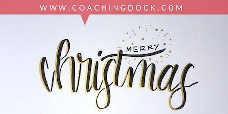 Handlettering -  Weihnachten spezial Tickets