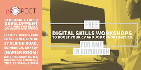 Digital Skills Workshop to boost your CV and Job opportunities tickets