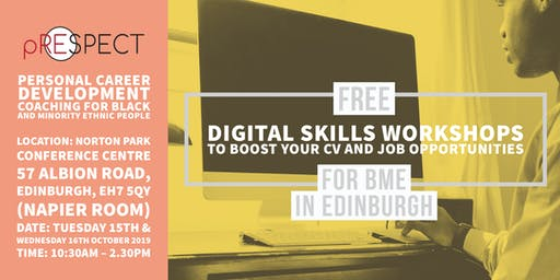 Digital Skills Workshop to boost your CV and Job opportunities