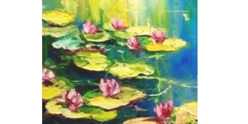 Monet Water Lillies - Statesman Hotel