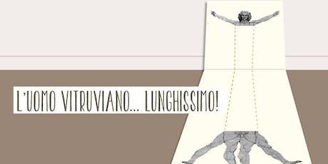 Festival Del Disegno - L'uomo vitruviano lunghissimo! biglietti