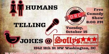 10/15 - Humans Telling Jokes at Solly's tickets