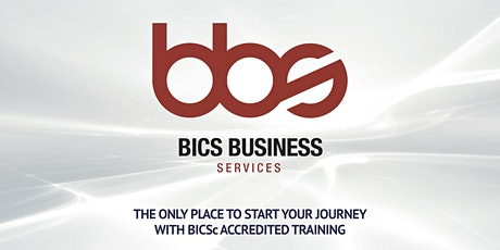 BICSc Four Day Accredited Trainer Bundle: 4th - 7th May 2020 tickets
