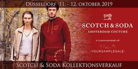 SCOTCH & SODA Kollektionsverkauf Düsseldorf Tickets