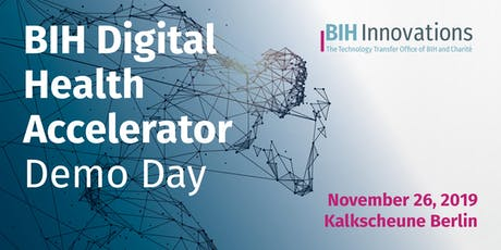 Berlin Health Innovations: Digital Health Accelerator - Demo Day 2019 tickets