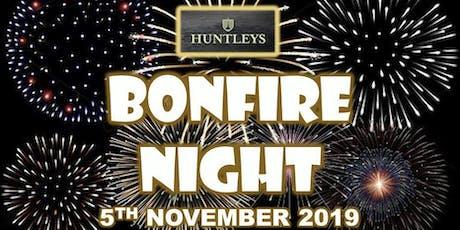 Bonfire Night at Huntleys tickets