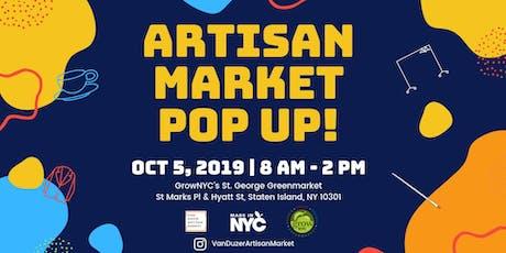 Artisan Market Pop Up X Made in NYC Week! tickets