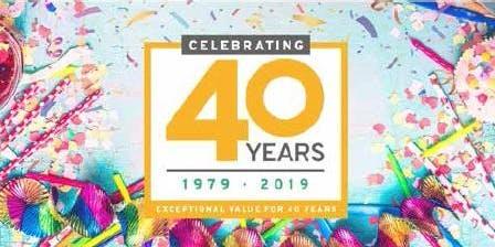 JTF 40th Birthday Open day