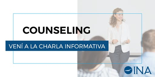 Charla informativa de Counseling