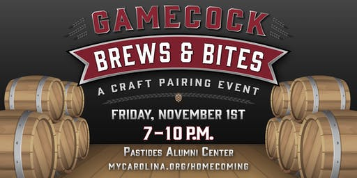 Gamecock Brews & Bites: A Craft Pairing Event presented by Founders FCU
