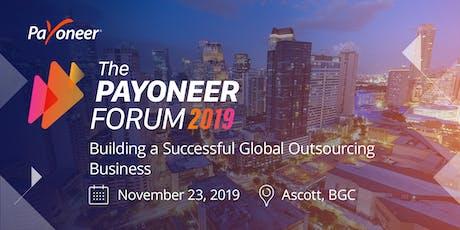 The Payoneer Forum - Manila tickets
