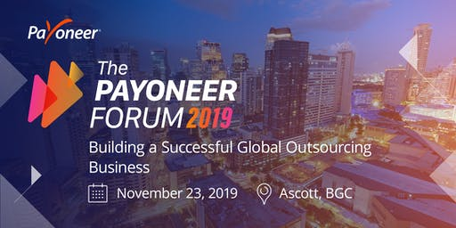 The Payoneer Forum - Manila