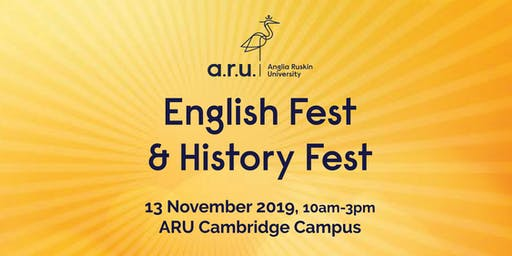 Anglia Ruskin University: English Fest and History Fest