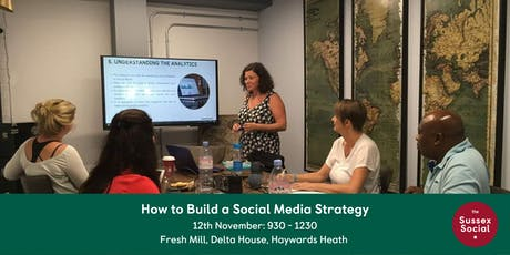 How to Build a Social Media Strategy tickets