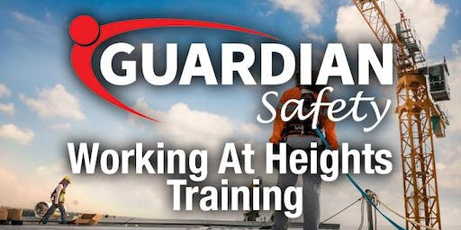 Working at Heights Training - Friday 20th September