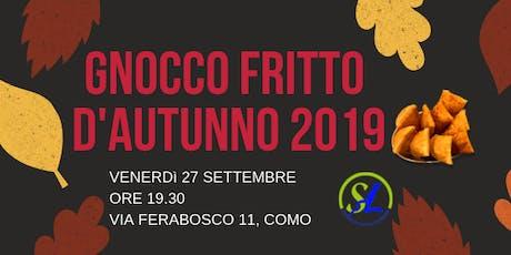 Gnocco fritto d'autunno 2019 biglietti