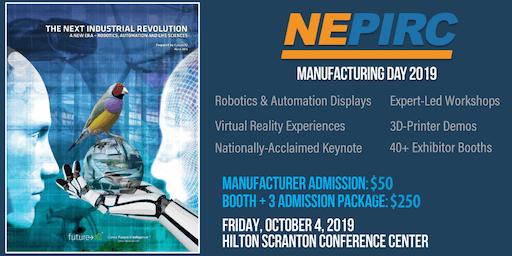 NEPIRC Manufacturing Day 2019: Manufacturing Expo & B2B Exchange